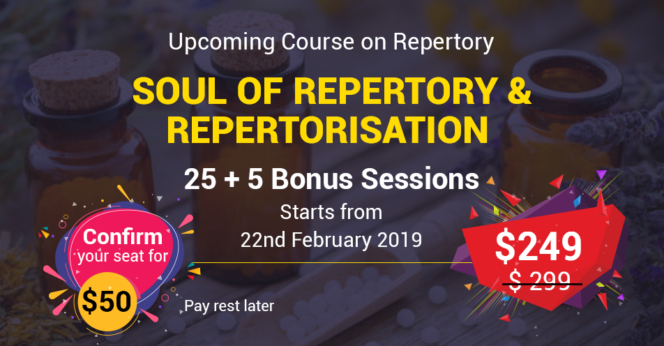 Homeopathy Repertory Course, Repertorisaton Approaches