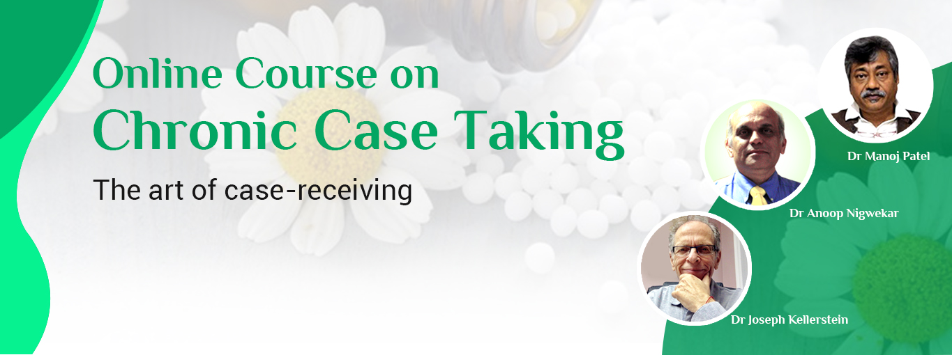 Homeopathy Course on Chronic Case Taking - 3 Sessions