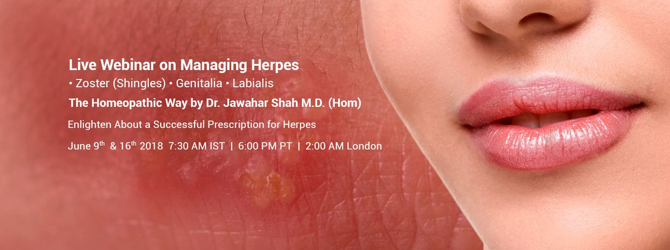Online course on Herpes and its Homeopathic Management