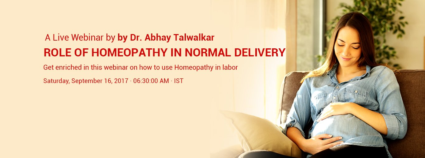 Role of Homeopathy in Normal Delivery by Dr. Abhay Talwalkar